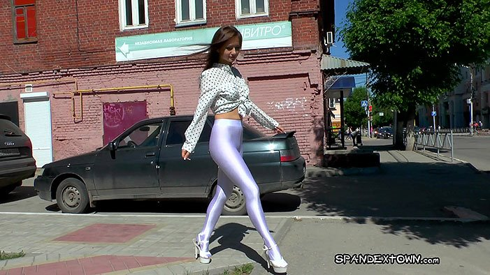 Lesya - Spandextown - Full HD/MP4 - image1