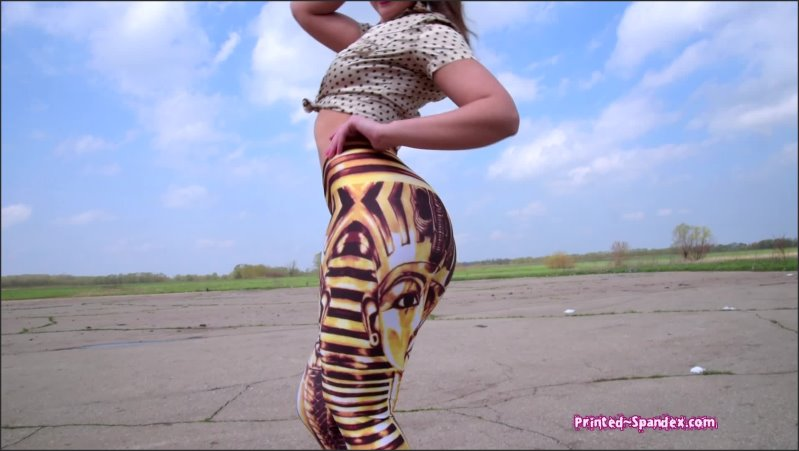 video 068 - printed-spandex - Full HD/MP4 - image1