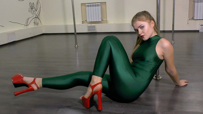 Nadya K. - 303sd - shiny-dance - Full HD/MP4 - image1